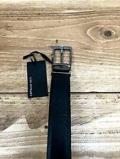 Cinturón para hombre único cápsula Pantalón Negro Oficina Inteligente-Cintura Tamaño 62/64 pulgadas