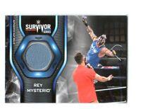 WWE Rey Mysterio 2019 Topps SmackDown Survivor Series Mat Relic Card
