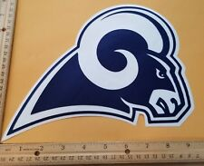 """HUGE LOS ANGELES RAMS IRON-ON PATCH - 8"""" x 9.5"""""""