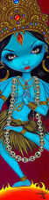 Kali Jasmine Becket-Griffith Fantasy India Hindu Religion Print Poster 13x46