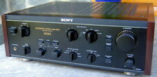 SONY TA-F800ES TOP STEREO AMPLIFIER WOODEN SIDES