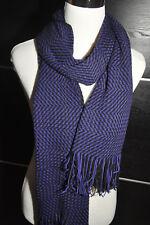 """AUTH NEW $200 MISSONI Knit Wool Blend Purple Scarf Shawl Wrap 18""""X80"""""""