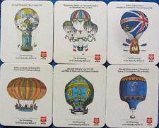 Série Haake Beck de dessous de verre ballonflug semaines'73-BREMEN-COMPLET