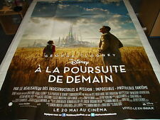 AFFICHE   CLOONEY / DISNEY / A LA POURSUITE DE DEMAIN