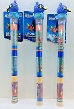 9 Lip Smacker Finding Dory (3 Pack): Melon Pop, Blue Tang Berry, Starfish Cookie