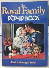 The Royal Family Pop-Up Book by Patrick Montague Smith 1984 Princess Diana