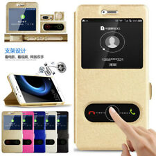 For Xiaomi Redmi 5Plus Note 4 5 Pro View Window PU Leather Stand Cover Flip Case