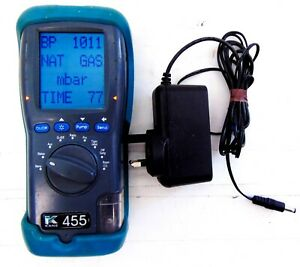 KANE 455 Flue Gas Analyser Tester + Charger