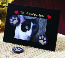 Magnet Paws Frame! So Purrr-fect PHOTO FRAME STAND or Wall Picture Frame