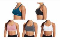 New Women's Puma Sports Bra Sizes S - L Blue Black Pink Gray White