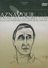 Charles Aznavour : Aznavour Live Palais des Congres 97/98 (DVD)