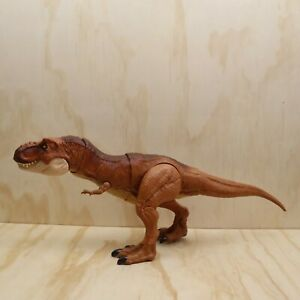 2017 Jurassic World Thrash And Throw T-Rex Action Figure 56cm Long