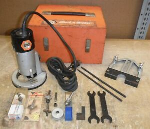 RARE Black & Decker 440M Router Motor 1/2HP with 441B Type A Base in Case ndr7
