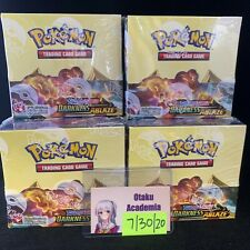 Pokemon Sword and Shield Darkness Ablaze Booster Box English Packs IN HAND RTS