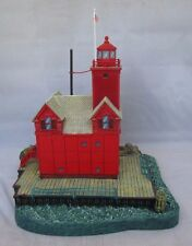 Holland Harbor Light Michigan Beacons By The Sea Danbury Mint