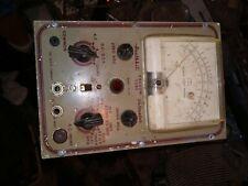 Vintage Heathkit Vacuum Tube Voltmeter Model V 4a Partsnot Working