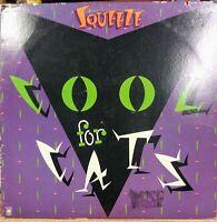 SQUEEZE:Cool For Cats-U.S. LP 1979 SP-4759 DJ PROMOTIONAL COPY