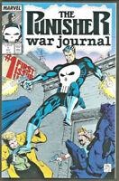 PUNISHER WAR JOURNAL #1 NM- range 1st series Marvel Comics 1988 J. Lee, Potts