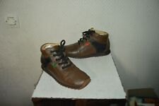 CHAUSSURE MONTANTE KICKERS CUIR  TAILLE 35 LEATHER SHOES /ZAPATOS/SCARPA