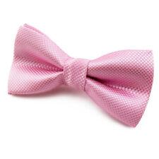 Noeud Papillon rose pour enfant Mariage Cérémonie Communion Fête Soirée Baptême