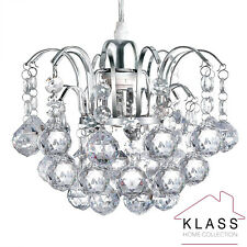 Modern Chandelier Style Ceiling Pendant Light Shade Acrylic Crystal Glass Shades