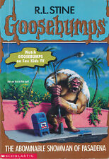 Goosebumps #38: The Abominable Snowman of Pasadena by R. L. Stine (1995, pback)