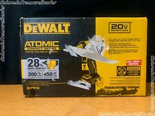 New Listingdewalt Dcf921b 20v Max Atomic 12 Compact Impact Wrench Withhog Ring Tool Only