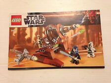LEGO STAR WARS NOTICE DE MONTAGE (9491)