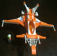 Custom Lego Star Wars Inana Class Old Republc Star Fighter with Pilot