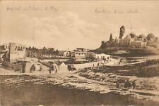SYRIE SYRIA CARTE POSTALE ALEP HOPITAL MILITAIRE 1924