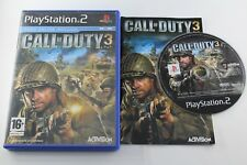 PLAY STATION 2 PS2 COD CALL OF DUTY 3 COMPLETO PAL ESPAÑA