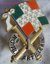 IN10163 - INSIGNE 1° Régiment d'Artillerie, opaque, attache type PIN'S