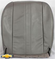 97-02 Chevy Express Handicap Wheelchair Van ~Driver Bottom Vinyl Seat Cover GRAY