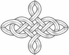 Stained Glass Supplies Celtic Knot Bevel Cluster EC826