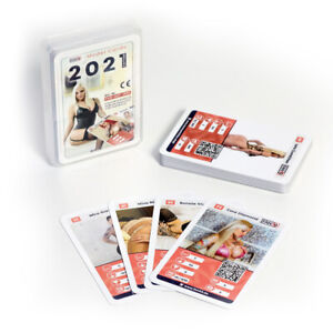 FAN69 Model Cards 2021 - Das erotische Kartenspiel