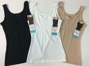 3 Assets Spanx Thintuition Shaping Tanks Size Small Cami Stretch 10230R Thin C3