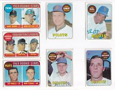 ***1969 Topps #563 Marty Pattin PILOTS Error! BV$3!  No creases, Nice corners***