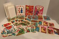 """Vintage Valentines Greeting Cards. """"1970's-1980's. Blank, Over 100 Cards! LOT"""