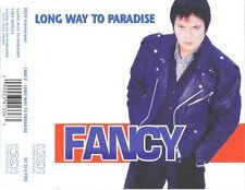FANCY Long Way To Paradise 2x + Hit Medley CD Single 1994 Koch Intl ANTHONY MONN