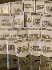 ~ Pruvit Keto Kreme~ Functional Fat Technology~ SWEET KREME ~  20 Packets ~