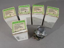 Lot of 5 GE CR104PSG47B92 Selector Switches Heavy Duty 4-Pos 600V Chrome Cap NEW