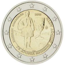 2 EURO COMMEMORATIVA GRECIA 2015 75 ANNI MORTE DI SPYRIDON LOUIS RARA FDC UNC