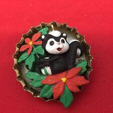 Hallmark Miniature Ornament Sweet Bouquet 1994