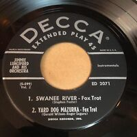 Jimmie Lunceford 45 RPM EP on Decca ED 2071