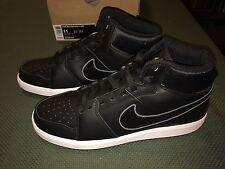 Nike Backboard II MID Basketball Skateboard Black White Sneakers Size Men US 11