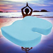 Coccyx Orthopedic Memory Foam Seat Chair Wheelchair Pad Yoga Meditation Cushion