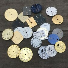 Watch Face LOT Mens Some Chronograph Crafting Steampunk Art Jewelry Lot N