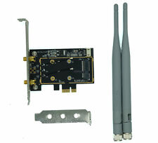 New Mini PCI-E Wireless Card To PCI-e PC Desktop WIFI WLAN CARD Express Adapter