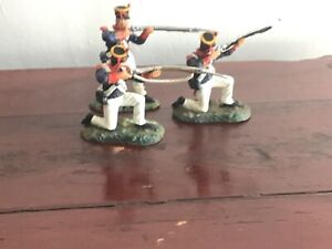 3 Alamo Mexicans, War of Texas independence.. Conte plastic toy Soldiers 60 mm