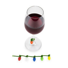 True Fabrications TrueZoo Holiday Light Drink Markers / Charms - Set of 6